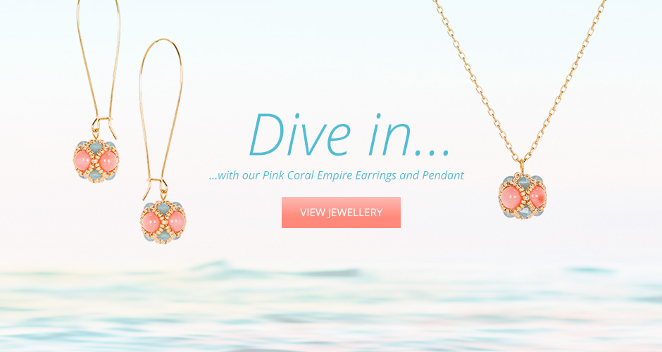 Dive In - Coral Jewellery