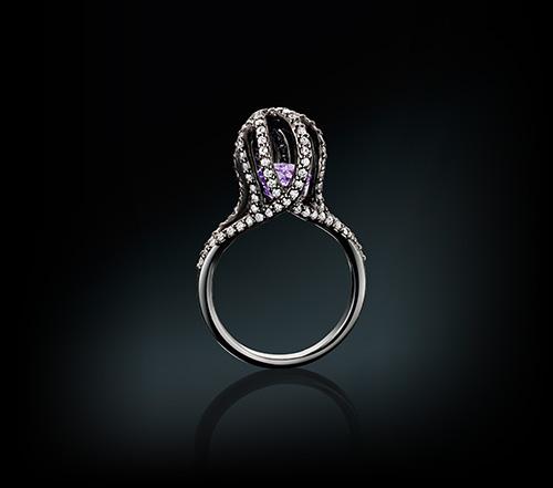 Euan McWhirter Octopus Bespoke Diamond Ring